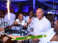 Errol Fr. Mingles All White Birthday Party 2017 @ Mingles Cafe