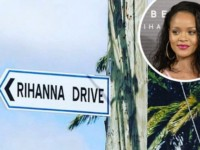 RIHANNA ATTENDS UNVEILING OF HER STREET IN BARBADOS (WELCOME TO RIHANNA DRIVE)