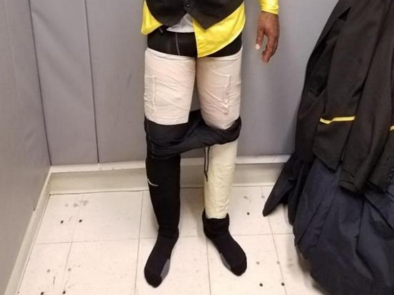 Fly Jamaica Airways Crew Member Found with $160,000 of Cocaine Strapped to Legs at JFK Airport