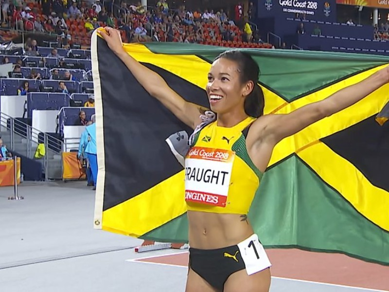 Jamaica wins historic gold medal
