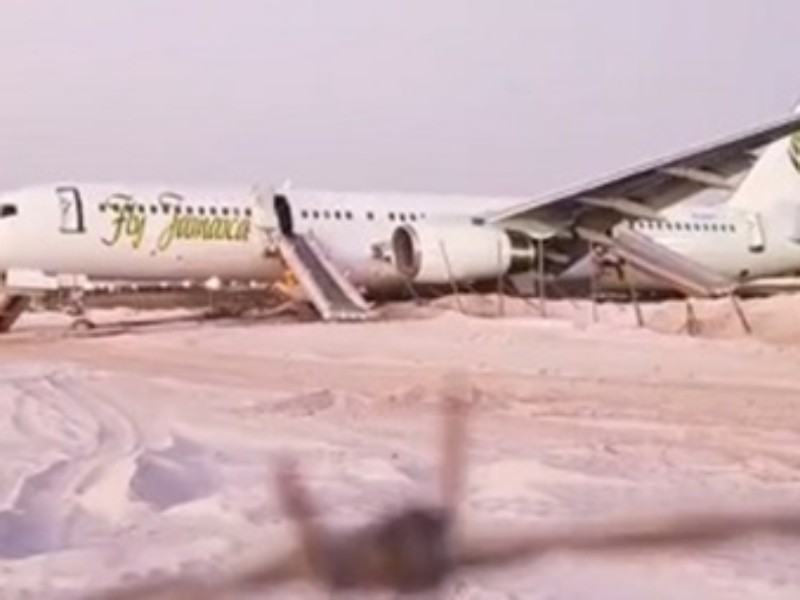 Six injured as Fly Jamaica aircraft makes emergency landing in Guyana