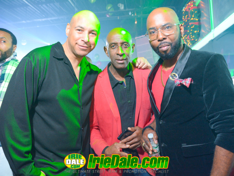 Errol From Mingles, Al Bundy And Irie Dale Christmas Party @ Mingles