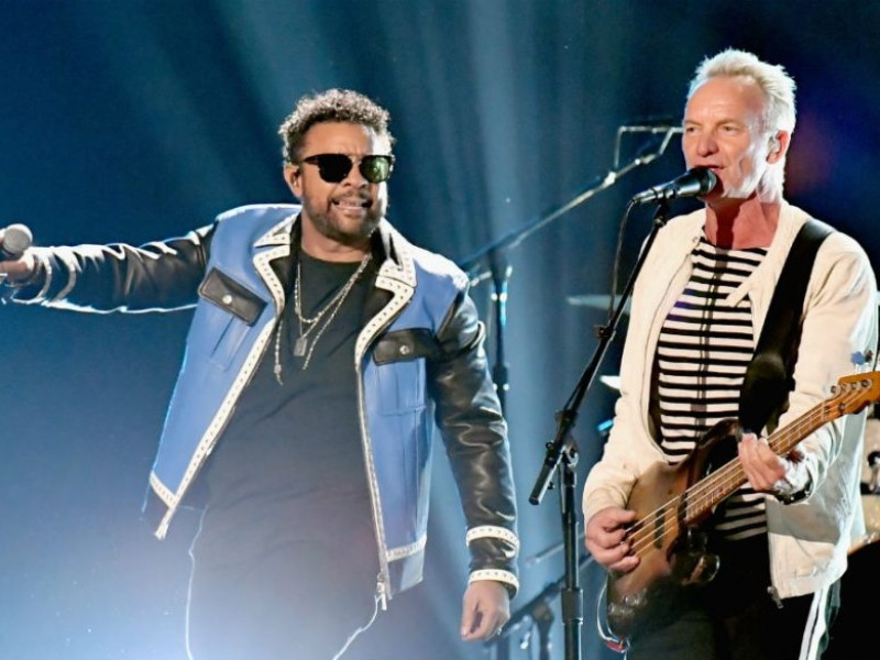 "Shaggy and Sting Won Best Reggae Album Grammy For ""44/876"" – www"