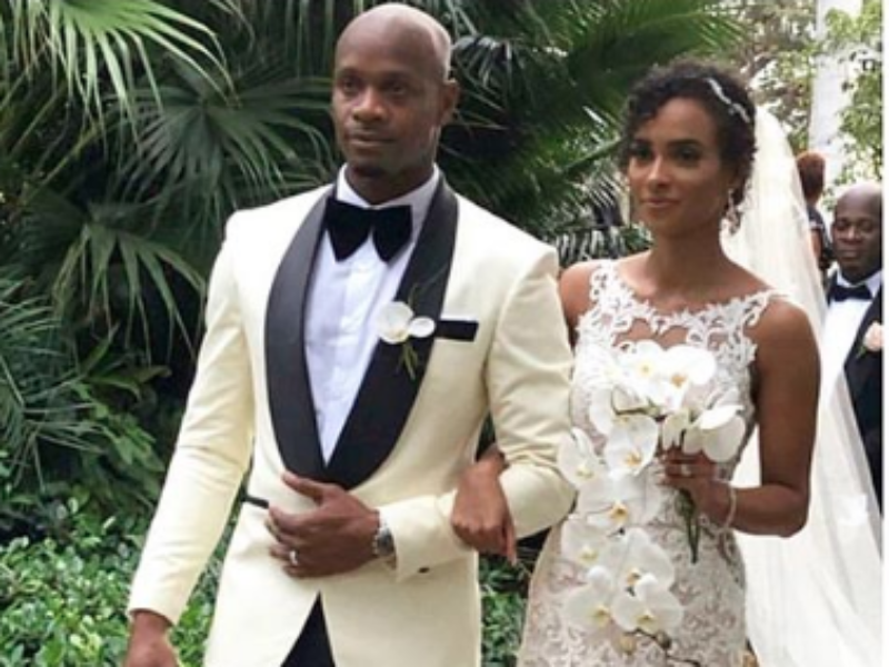 Worlds Former 100-metre Record Holder Asafa Powell gets married in Montego Bay