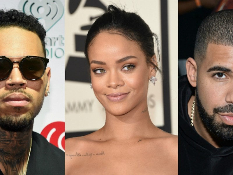Rihanna Ex-Boyfriends Drake & Chris Brown Got A Song Together Dropping Soon