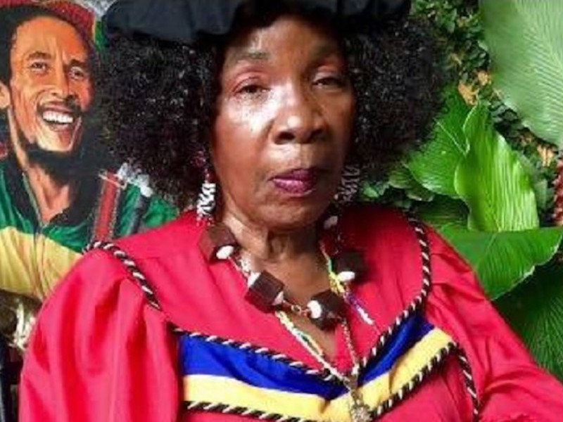 Bob Marley's Widow Rita Marley Makes First Public Appearance Since Stroke