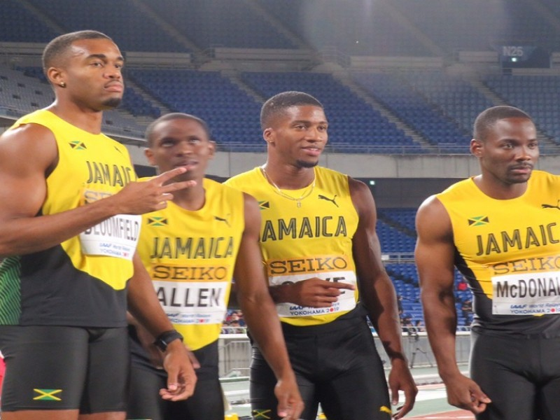 Men's 4x400m team gives Jamaica first medal at World Relays (VIDEO)