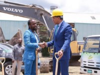 Dancehall Star Popcaan & Jamaica PM Andrew Holness Broke Ground For Massive Development In St. Thomas