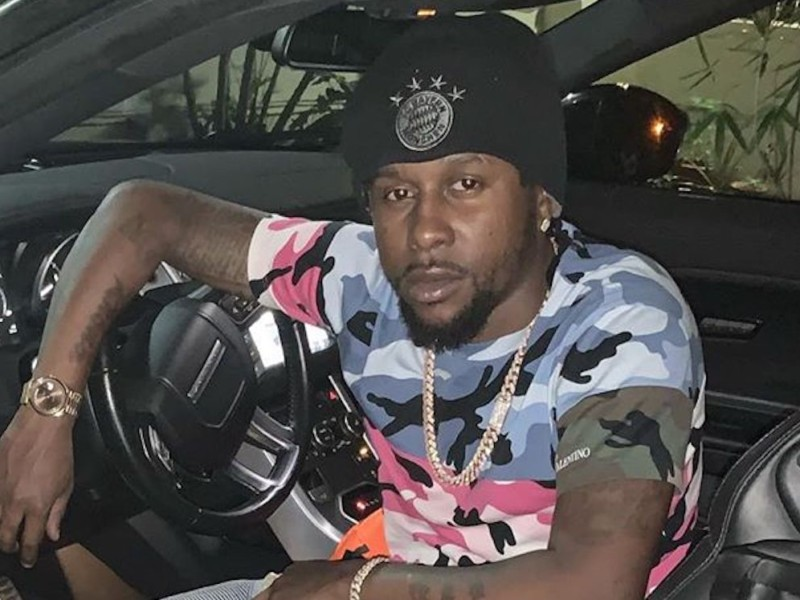 Dancehall Star Popcaan Rolls Out His New Range Rover