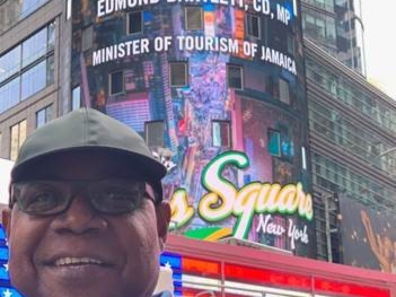 Jamaica gets big promotion in Times Square, New York