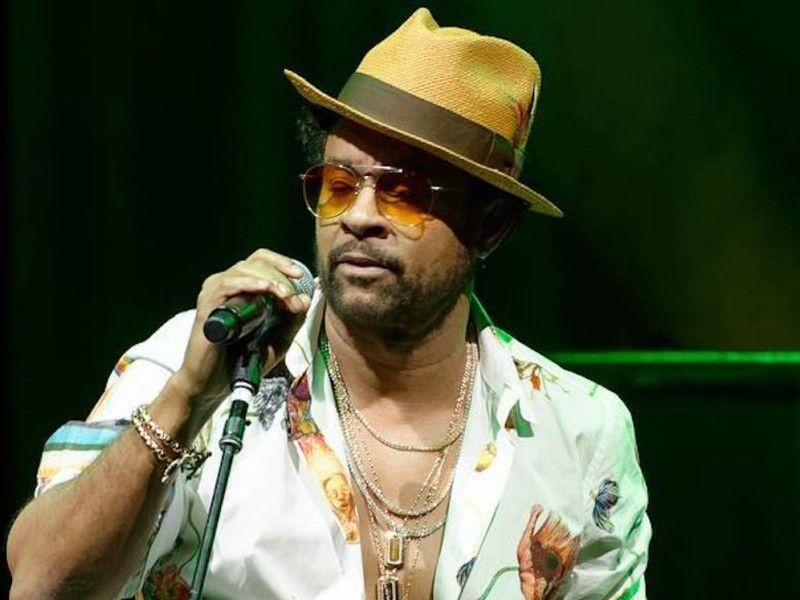 Dancehall Icon Shaggy Getting Recognized At Boston Veterans Day Dinner