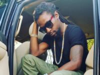 Reggae Singer Jah Cure Crash Another AMG Mercedes-Benz: Photos