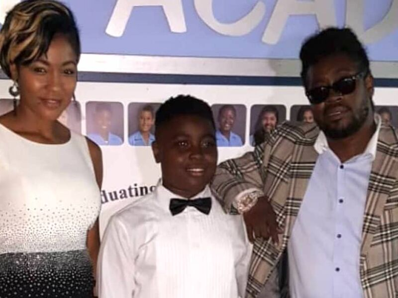 Beenie Man & D'Angel Come Together To Celebrate Son Marco Dean's 14th Birthday