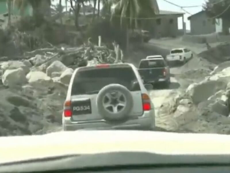 Latest Scenes from St. Vincent's Volcano Affected Areas (VIDEO)